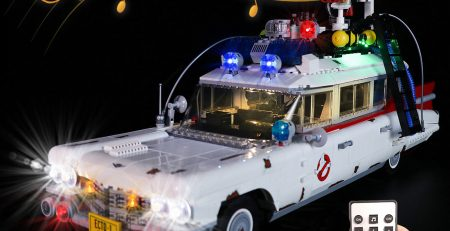 3128738 - LED kit for Lego Creator Ghostbusters ECTO-1 (10274) - Light and Sound Version